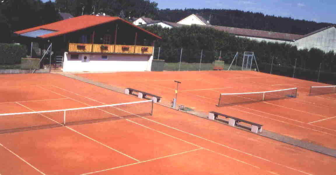 Tennisplatz des SVB